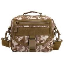 Multi-function Waterdicht High Density Strong Nylon Fabric Shoulder /  Waist Bag / Handtas, Size: 19 x 29 x 10cm(Camouflage)