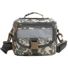 Multi-function Waterdicht High Density Strong Nylon Fabric Shoulder /  Waist Bag / Handtas, Size: 19 x 29 x 10cm(Camouflage)