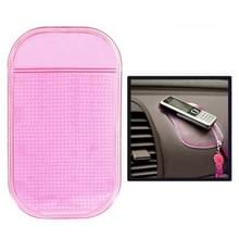 Auto Anti-Slip Mat Super Grip Pad voor Telefoon GPS MP4 MP3 (roze)