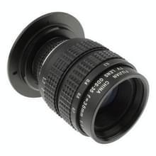 35mm 1:1.7 c-m4/3 houder tv lens ontmoette stepping ring