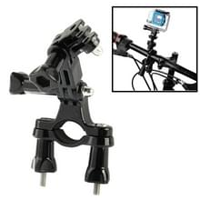 Fiets fiets Camera Stuur Bar Mount houder ontmoette 3 manier zwenkarm voor GoPro HD HERO4 / 3 + / 3 / 2 / 1(zwart)