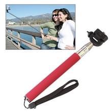 Fotopro Uitschuifbare Handheld Monopod Selfie stick voor Digitale Camera (Roze)