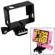 TMC Hoogwaardig statief Houder Frame / behuizing voor GoPro Hero 4 / 3 + 3 HF191 (zwart)