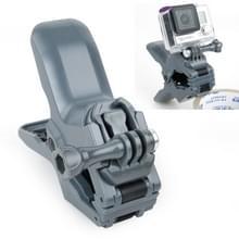 TMC Bekken Flex Montageklem voor Gesp & Duim schroeven voor GoPro HERO 6 / 5 / 4 / 3+ / 3 / 2 / 1 (grijs)