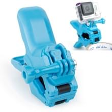 TMC Bekken Flex Montageklem voor Gesp & Duim schroeven voor GoPro HERO 6 / 5 / 4 / 3+ / 3 / 2 / 1 (blauw)