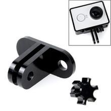 TMC lichtweight CNC Aluminum Headset Mount voor XiaoMi YI Sport Camera(zwart)