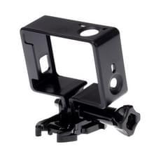 Standaard beschermings Frame Mount Housing met Assorted Mounting Hardware voor GoPro Hero4 / 3+ / 3
