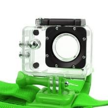 NEOpine GHS-2 Verstelbare hoofdband voor GoPro HERO 6 / 5 / 4 / 3+ / 3 / 2 / 1, Xiaomi Yi Sport Camera (groen)