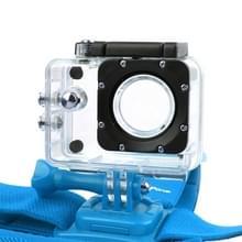 NEOpine GHS-2 Verstelbare hoofdband voor GoPro HERO 6 / 5 / 4 / 3+ / 3 / 2 / 1, Xiaomi Yi Sport Camera (blauw)