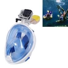 NEOPine Scuba water sport apparatuur volledig droge duik masker zwembril voor GoPro HERO 4 Session 6 / 5 / 4 / 3 + / 3 / 2 / 1 /1, L-formaat(blauw)