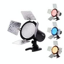 YONGNUO YN-168 LED Videolamp voor Camcorder en Canon 70D / 7D / 60D / 1D / T5I / T4I
