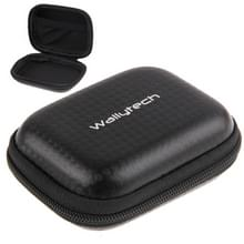 Carbon Fiber Waterdicht draagbare hoesje voor GoPro HERO4 /3+ /3 /2 /1, Afmeting: 9 cm x 7cm(zwart)