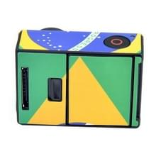 BRAZILIAANS Retro patroon hoes / case Sticker voor GoPro Hero 3+ / 3