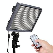 Aputure Amaran HR672C Flikkervrije LED Videolamp met 2.4GHz Draadloze Afstandsbediening en instelbare Kleurtemperatuur (zwart)
