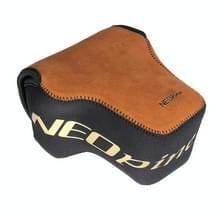 NEOpine Portable Mini Neopreen Flanellen Camera Tas Hoes voor Nikon COOLPIX P900s, Afmetingen: 10 x 15 x 17 cm
