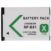3.6V, 1350mah np-bx1 batterij / accu voor sony digitale camera