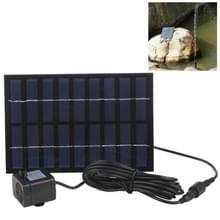 9V 2W rechthoek zonne-energie aangedreven waterpomp