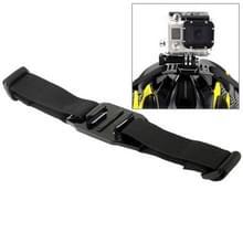 ST-04 Geventileerde Helm Riem Houder Adapter voor GoPro HERO 6 / 5 / 4 / 3+ / 3 / 2 / 1 (zwart)