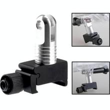 Super Mini Quick Release 20mm montagerail voor GoPro HERO 4 Session 6 / 5 / 4 / 3 + / 3 / 2 / 1 (zwart)