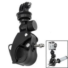 ST-93 universele Bicycle Mount Clip voor GoPro nieuwe held / HERO 6/5 sessie /5 /4 sessie /4 /3+/3 /2 /1, Xiaoyi Sport Cameras(Black)