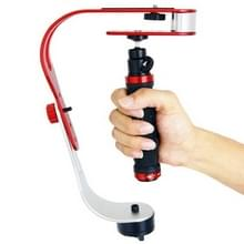 DEBO Handheld Video Stabilizer stabilisator voor DSLR Camera Camcorder, UF-007 (rood)