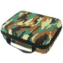 Camouflage patroon EVA Shockproof Waterdicht draagbare hoesje voor GoPro HERO 4 / 3 + / 3 / 2 / 1, Afmeting: 21 x 16 cm x 6.5 cm