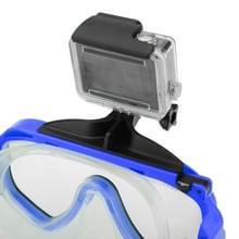Watersport Duiken duikuitrusting Zwemmen Masker Bril voor Houder voor GoPro HERO (2018) 7 / 6 / 5 / 4 / 3+ / 3 / 2 / 1 (blauw)