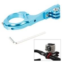 TMC-Fiets Aluminium Adapter fietsstuur Houder Pro voor GoPro HERO 6 / 5 / 4 / 3+ / 3 / 2 / 1 (blauw)