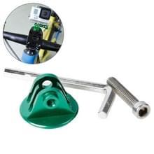 TMC Bike Head Mount met schroeven & Hex schroevendraaier voor GoPro Hero 4 / 3+ / 3 / 2 / 1(groen)