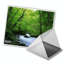 Vierkant ND4 Neutral Density Grijsfilter voor Camera (grijs)