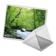 Vierkant ND2 Neutral Density Grijsfilter voor Camera (grijs)