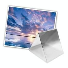 Vierkant Gradual geleidelijke veranderend Grijs kleurverloop Lens Filter (grijs)