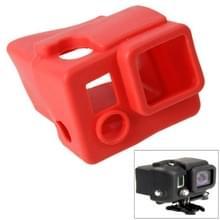 TMC siliconen hoes / case voor GoPro Hero 3+ (rood)