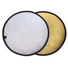 2 in 1 (Goud / zilver) Opvouwbare Reflector Board (60cm)