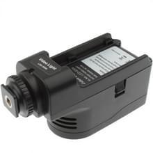 Digitale 2 LED Videolamp met een twee staps dim functie (zwart)