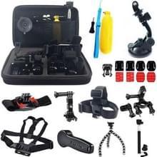 24-In-1 GoPro HERO 6 / 5 / 4 / 3+ / 3 / 2 / 1 accessories kit met hoes / case