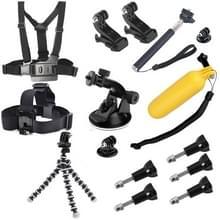 Accessoire set Gopro |13 accessoires voor GoPro HERO 6 / 5 / 4 / 3+ / 3 / 2 / 1 / SJ4000