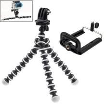 YKD-114 2 in 1 flexibel statief met Mount-Adapter + telefoons Mount Adapter ingesteld voor GoPro HERO4 /3+ /3 /2 /1 / SJ4000 / mobiele telefoon