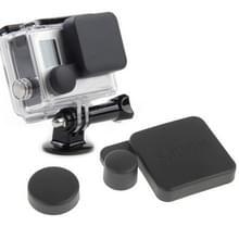 Beschermings Camera Lens Cap + Behuizing hoes / case Set voor SJ4000