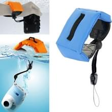 Onderdompelbare drijvende Bobber Hand polsband voor Gopro Hero GoPro Hero 4 / 3 + / 3 / 2 / 1 / Powershot / D20 / D30 / Mini Camcorder SJ4000(donker blauw)