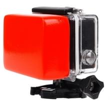 Backdoor Floaty spons met 3M Sticker voor GoPro HERO 4 Session 6 / 5 / 4 / 3 + / 3 / 2 / 1 /1(rood)