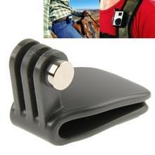 TMC hoofd Hat snelle Clip / rugzak Clip voor GoPro Hero 4 / 3 + / 3 / 2 / 1(grijs)