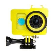 Huisvesting van Shell metaal beschermings Cage ontmoette Basic Mount + schroeven + UV-Lens Filter voor Xiaoyi Sport Camera(Goud)