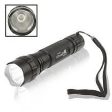 UltraFire WF-501B 240LM zaklamp  XR-E Q5 CREE LED  5 modus  wit licht (zwart)