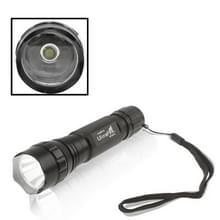 UltraFire WF-501B zaklamp  CREE XM-L T6 LED  5-Mode  witte Light(Black)