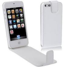 Vertical Flip Soft lederen hoesje voor iPhone 5 & 5Swit