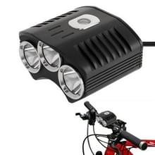 CREE XM-L 3 x T6 4 standen 2100LM Fietslamp