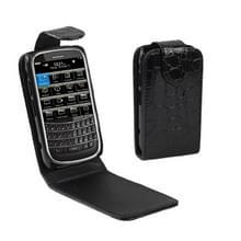 BlackBerry 9900 vertikaal PU leren Hoesje