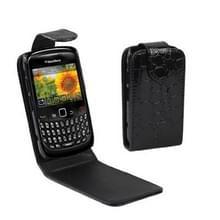 BlackBerry 8520 vertikaal PU leren Hoesje