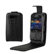 hoge kwaliteit krokodil structuur Vertical Flip lederen hoesje voor BlackBerry 9700